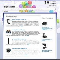 Fanotec Website
